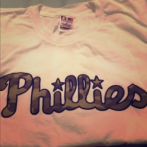 Other - Phillies shirt with camouflage lettering